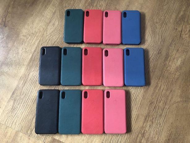 Etui skórzane Apple Iphone X Xs XR S R Max zamykane Folio case cover
