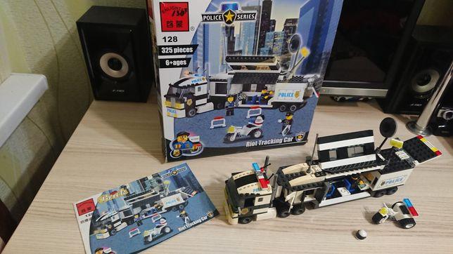Lego (лего) фура поліція полиция