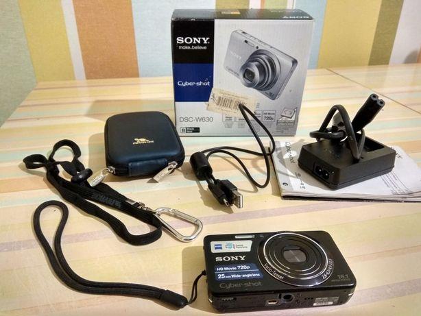 Фотоаппарат Sony DSC-W630 + 16GB + чехол