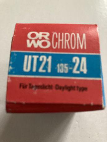 ORWO - Stara klisza zabytkowa - ORWO Chrom - 3x slajd