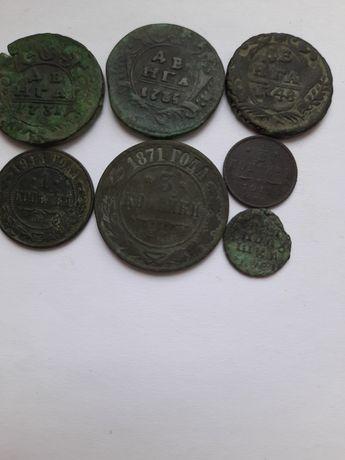 Набор царских монет