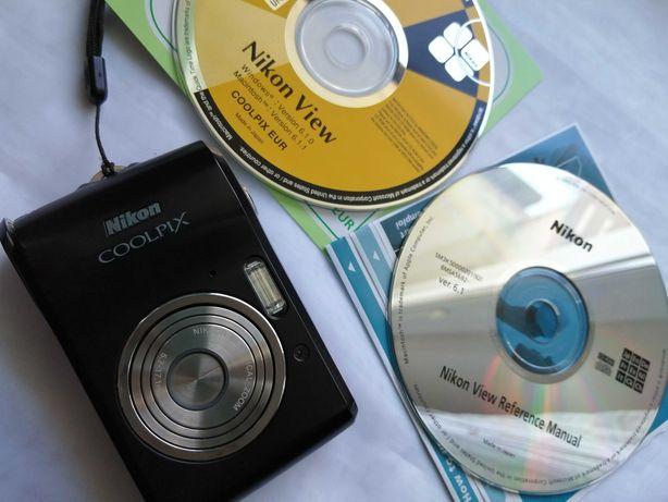 Aparat Nikon Coolpix L16 + płyty + instrukcja obsługi + pudełko