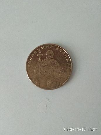монети жовті 1 гривня(100 штук) всі по 10 грн.