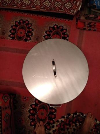Каструля (бак, котел) 80л. из нержавеющей стали с крышкой