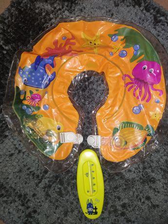 Надувной круг и Термометр для воды
