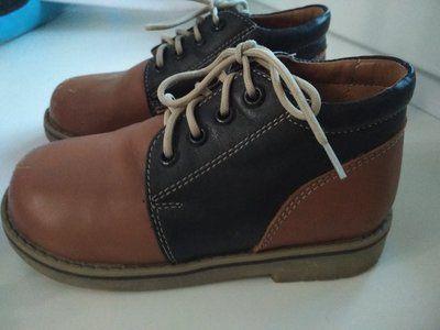 Ботиночки полностью натуральная кожа, ортопедические, каблук Томаса