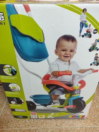 Triciclo para criança 3 em 1