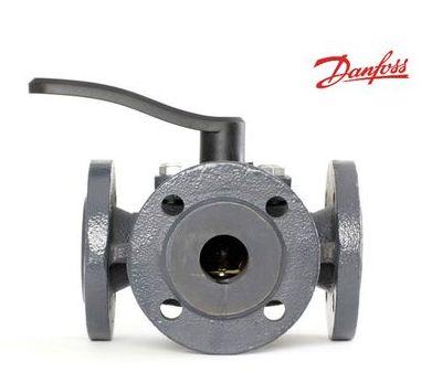 Трехходовой клапан Danfoss DN 65, DN80 + электропривод