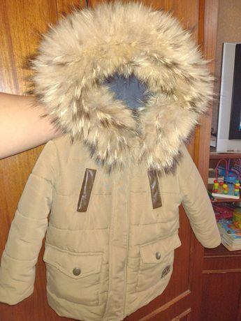 Зимняя куртка 86-92