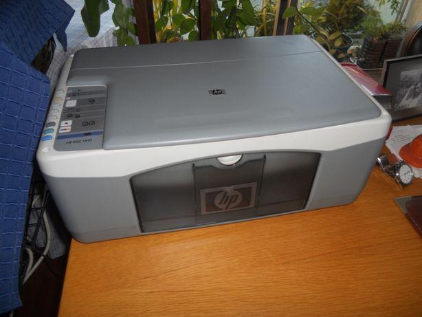 Impressora HP PSC 1410, usada com avaria