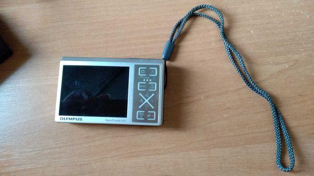 Aparat cyfrowy Olympus 1040 Srebrny + MicroSD 2GB gratis