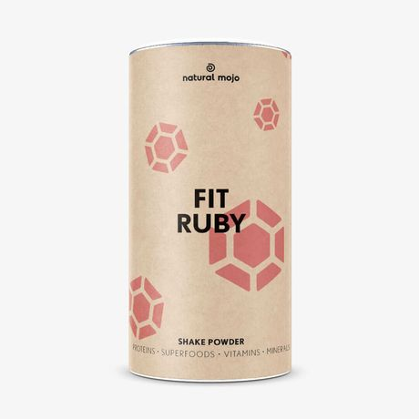 Natural mojo fit shake Ruby 500g - nowy