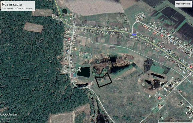 Велика земельна ділянка,65 соток, під забудову