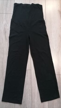 Czarne spodnie ciążowe w roz M