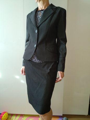 Nowa garsonka damska kostium damski żakiet spódnica spodnie SM 36 38