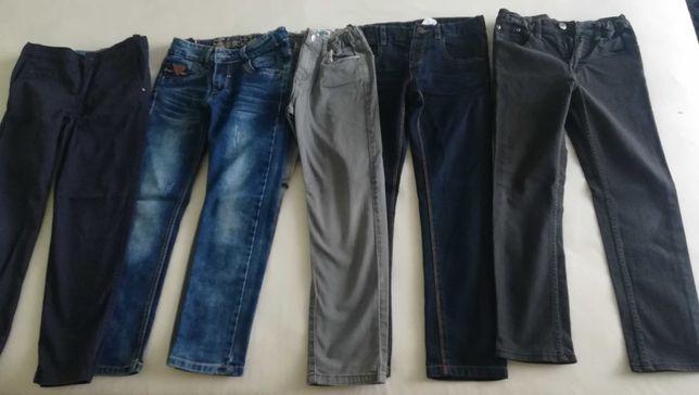 Jeansy chłopięce na 134-140