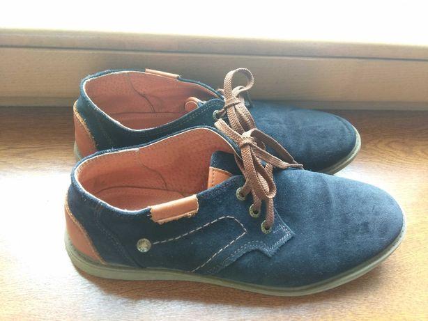 Туфлі підліткові шкіряні 38 розмір
