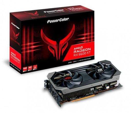 PowerColor Radeon RX 6600 XT Red Devil 8GB GDDR6 Nowy FV23% Gw 3 lata