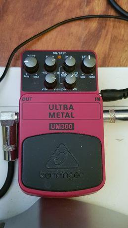 Efekt gitarowy behringer ultra metal