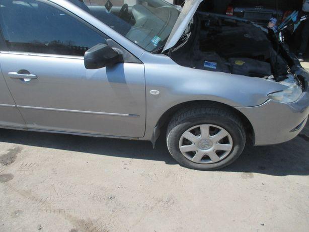 Mazda 6 gg gy błotnik przód gj6a drzwi szyba zamek lusterko klapa hak