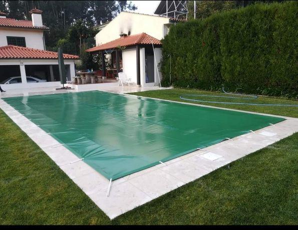 Coberturas segurança piscinas