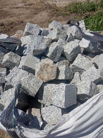 kostka granit 8/11 szara 1.5tony