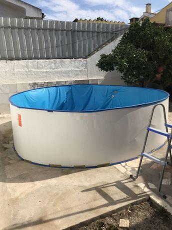 Chapa piscina 3.50m x 90cm