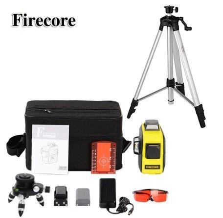 3D Firecore F93T-XR + ШТАТИВ Лазерный нивелир/лазерный уровень