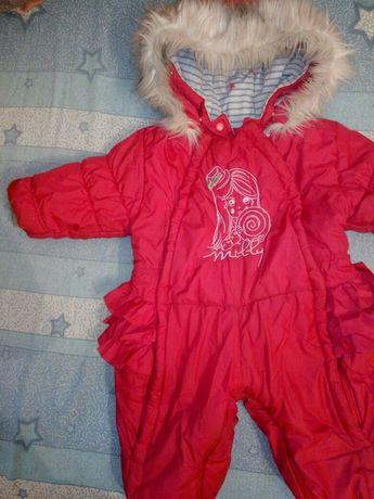 Комбинезон зимний Wojcik 74-80 для девочки зима
