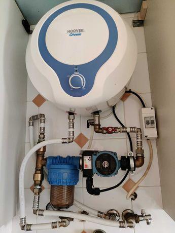 Sistema para aquecimento de radiadores