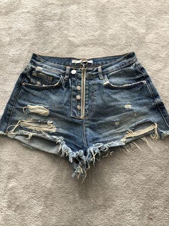 Spodenki szorty jeansowe zara 36