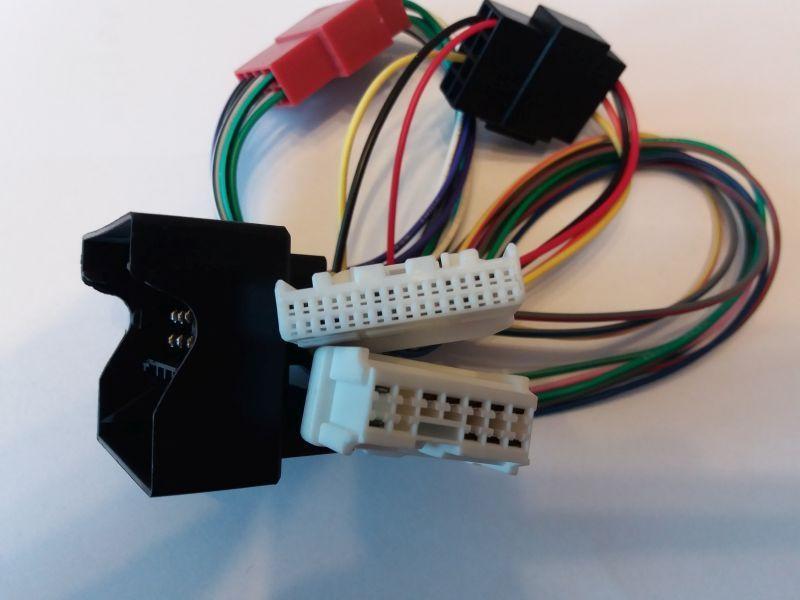 Adapter radia Megane III Scenic III Fluence przed lift / po lift