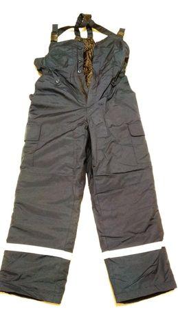 Теплые штаны-комбинезон