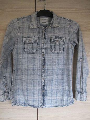 NOWA 146 koszula Reserved bawełna jeansowa długi rękaw chłopiec