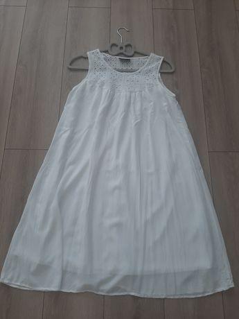 Biała, letnia sukienka