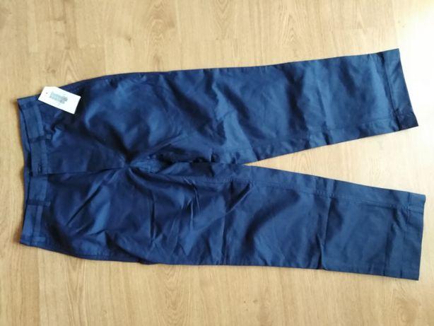 spodnie robocze granatowe nowe