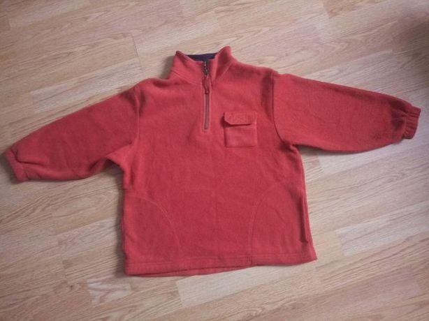 Теплая флисовая кофта.5-6 лет St. Bernard