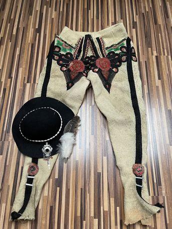 Strój góralski męski kierpce spodnie góralskie