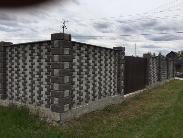 Участок с шикарным забором и фундаментом в Барашевском массиве Центр