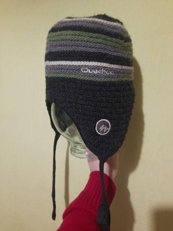 зимние шапки 5-6лет