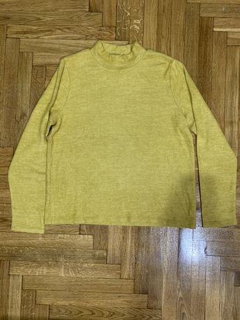 Pieces пуловер кофта свитшот nugget gold новый(Zara, Bershka)