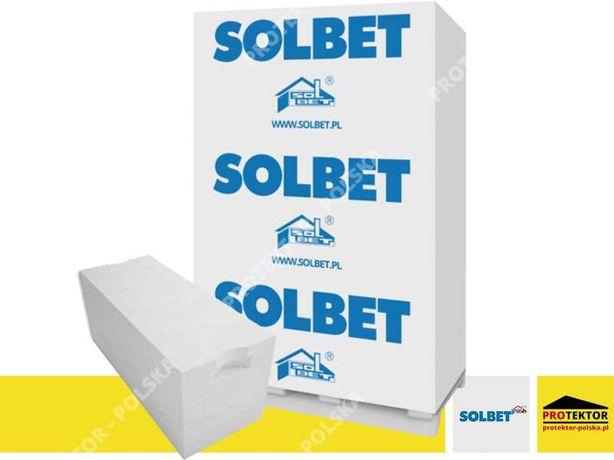 24 SOLBET kl. 600 suporex belit beton komórkowy gazobeton bloczek H+H