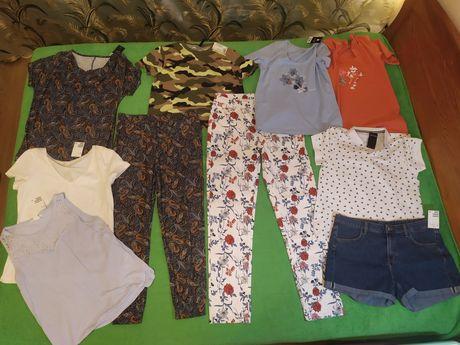 Новые размер М костюм, футболки, джинсы, джинс. шорты  Н&М, Esmara