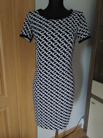 Nowa z metką sukienka czarno biała Pretty Girl rozmiar S