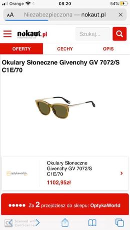 Givenchy GV 7072 Occhiali da sole - giallo