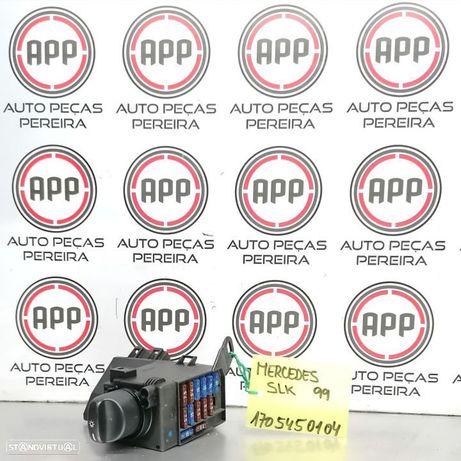 Comutador de luzes Mercedes SLK 1999 referência 1705450104.