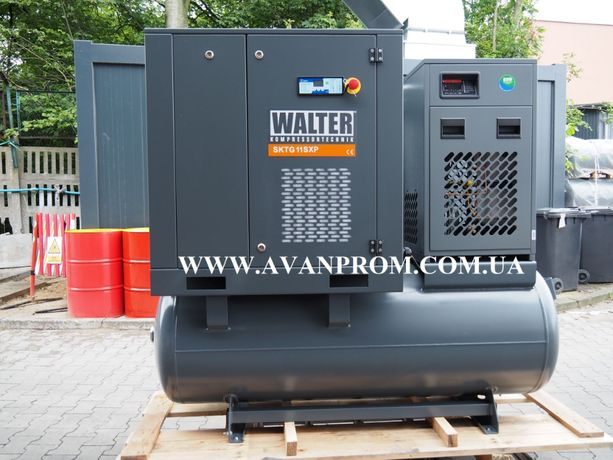 Винтовой компрессор гвинтовий компресор WALTER EC