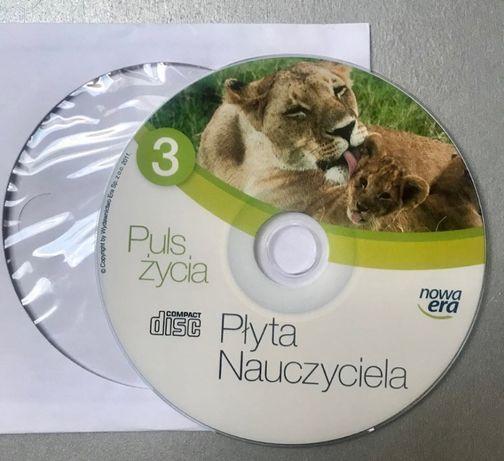 Puls życia sprawdziany, kartkówki CD dla nauczyciela