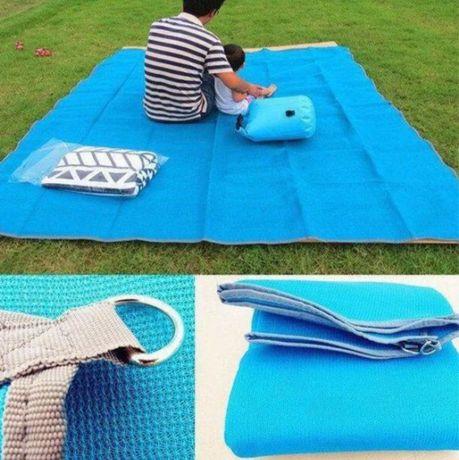 Пляжный коврик 200х200см Антипесок
