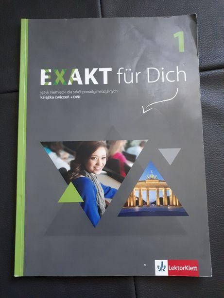 Język niemiecki, Exakt für Dich 1, zeszyt ćwiczeń